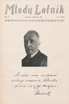 Młody Lotnik. 1926, nr10