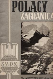 Polacy Zagranicą : organ Światowego Związku Polaków z Zagranicy. 1937 [całość]