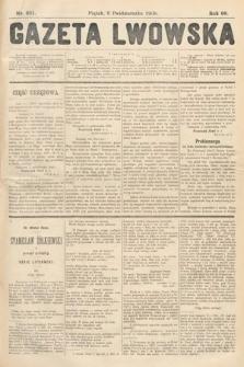 Gazeta Lwowska. 1908, nr231