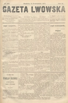 Gazeta Lwowska. 1908, nr233