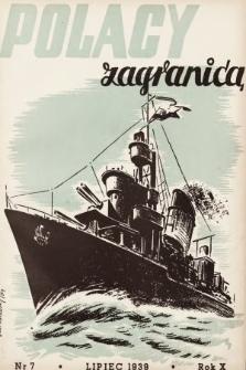 Polacy Zagranicą : organ Światowego Związku Polaków z Zagranicy. 1939, nr7