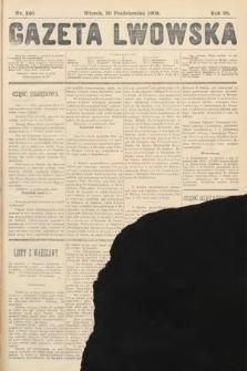 Gazeta Lwowska. 1908, nr240