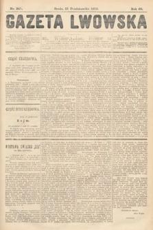 Gazeta Lwowska. 1908, nr241