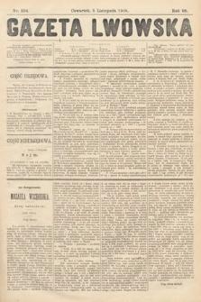 Gazeta Lwowska. 1908, nr254