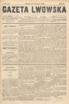 Gazeta Lwowska. 1908, nr258