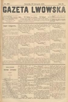 Gazeta Lwowska. 1908, nr266