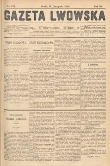 Gazeta Lwowska. 1908, nr271