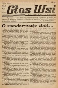 Głos Wsi. 1934, nr 2