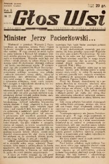Głos Wsi. 1934, nr 21