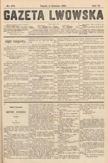 Gazeta Lwowska. 1908, nr279