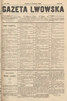 Gazeta Lwowska. 1908, nr280