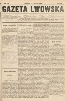 Gazeta Lwowska. 1908, nr289