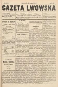 Gazeta Lwowska. 1908, nr291