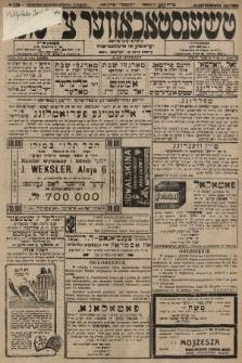 Čenstokower Cajtung = Częstochower Cajtung : eršajnt jeden frajtog. 1928, nr18