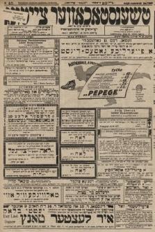 Čenstokower Cajtung = Częstochower Cajtung : eršajnt jeden frajtog. 1928, nr45