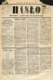 Hasło : dziennik społeczno-ekonomiczny. 1875, nr24