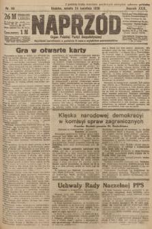 Naprzód : organ Polskiej Partyi Socyalistycznej. 1920, nr 98