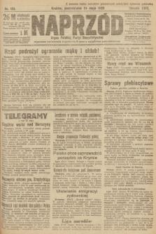 Naprzód : organ Polskiej Partyi Socyalistycznej. 1920, nr 123
