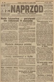 Naprzód : organ Polskiej Partyi Socyalistycznej. 1920, nr 191