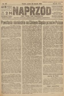 Naprzód : organ Polskiej Partyi Socyalistycznej. 1920, nr 198
