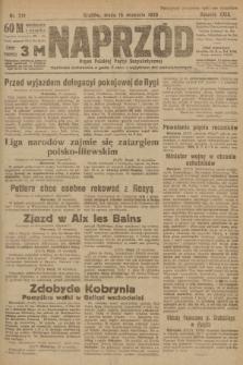 Naprzód : organ Polskiej Partyi Socyalistycznej. 1920, nr 219