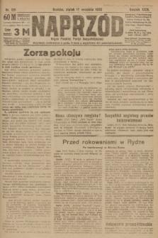 Naprzód : organ Polskiej Partyi Socyalistycznej. 1920, nr 221
