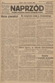 Naprzód : organ Polskiej Partji Socjalistycznej. 1932, nr4