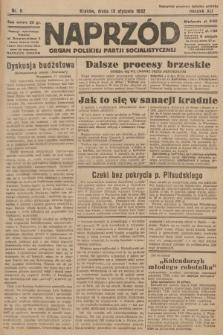 Naprzód : organ Polskiej Partji Socjalistycznej. 1932, nr9