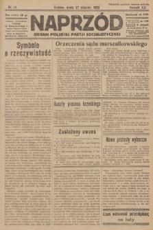 Naprzód : organ Polskiej Partji Socjalistycznej. 1932, nr21