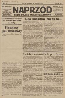Naprzód : organ Polskiej Partji Socjalistycznej. 1932, nr25 (po konfiskacie nakład drugi)