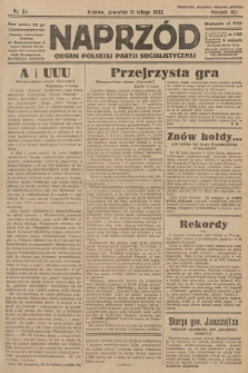 Naprzód : organ Polskiej Partji Socjalistycznej. 1932, nr33