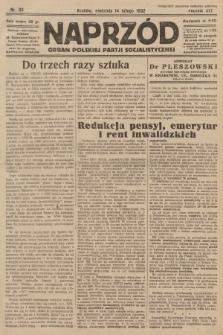 Naprzód : organ Polskiej Partji Socjalistycznej. 1932, nr36