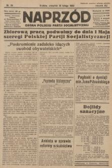 Naprzód : organ Polskiej Partji Socjalistycznej. 1932, nr39
