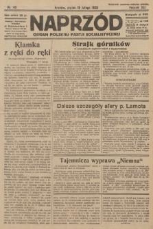 Naprzód : organ Polskiej Partji Socjalistycznej. 1932, nr40