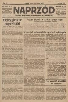 Naprzód : organ Polskiej Partji Socjalistycznej. 1932, nr44