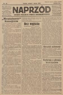 Naprzód : organ Polskiej Partji Socjalistycznej. 1932, nr49