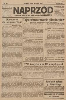 Naprzód : organ Polskiej Partji Socjalistycznej. 1932, nr52