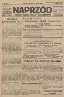 Naprzód : organ Polskiej Partji Socjalistycznej. 1932, nr57