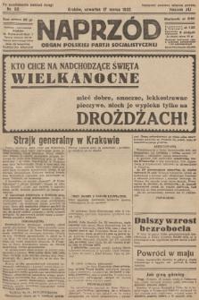 Naprzód : organ Polskiej Partji Socjalistycznej. 1932, nr62 (po konfiskacie nakład drugi)