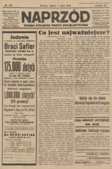 Naprzód : organ Polskiej Partji Socjalistycznej. 1932, nr102
