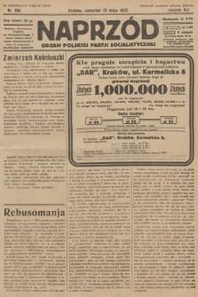 Naprzód : organ Polskiej Partji Socjalistycznej. 1932, nr106 (po konfiskacie nakład drugi)