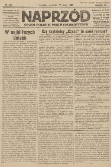 Naprzód : organ Polskiej Partji Socjalistycznej. 1932, nr119