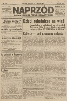 Naprzód : organ Polskiej Partji Socjalistycznej. 1932, nr131