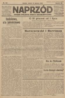 Naprzód : organ Polskiej Partji Socjalistycznej. 1932, nr132