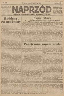 Naprzód : organ Polskiej Partji Socjalistycznej. 1932, nr133