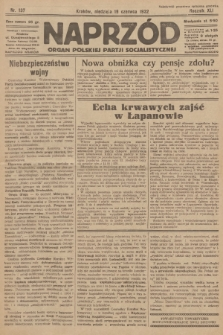 Naprzód : organ Polskiej Partji Socjalistycznej. 1932, nr137