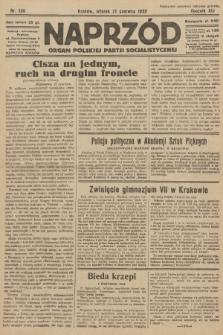 Naprzód : organ Polskiej Partji Socjalistycznej. 1932, nr138