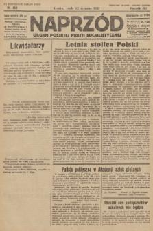 Naprzód : organ Polskiej Partji Socjalistycznej. 1932, nr139 (po konfiskacie nakład drugi)