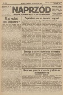 Naprzód : organ Polskiej Partji Socjalistycznej. 1932, nr143