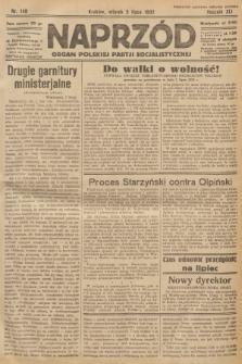 Naprzód : organ Polskiej Partji Socjalistycznej. 1932, nr149